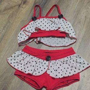 DBK Dancewear set.  Size M